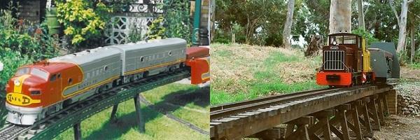 A Garden Railway you can Ride On! - Mini Train Systems Pty Ltd
